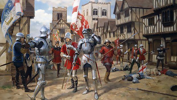 22/05/1455: Chiến tranh Hoa Hồng bắt đầu