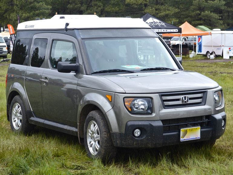 Ursa Minor Vehicles Honda Element Pop Top Ecamper Rv Pinterest