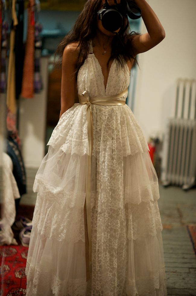 I love the idea of re-fashioning: taking a pre-loved garment and re-making it to suit a new style.