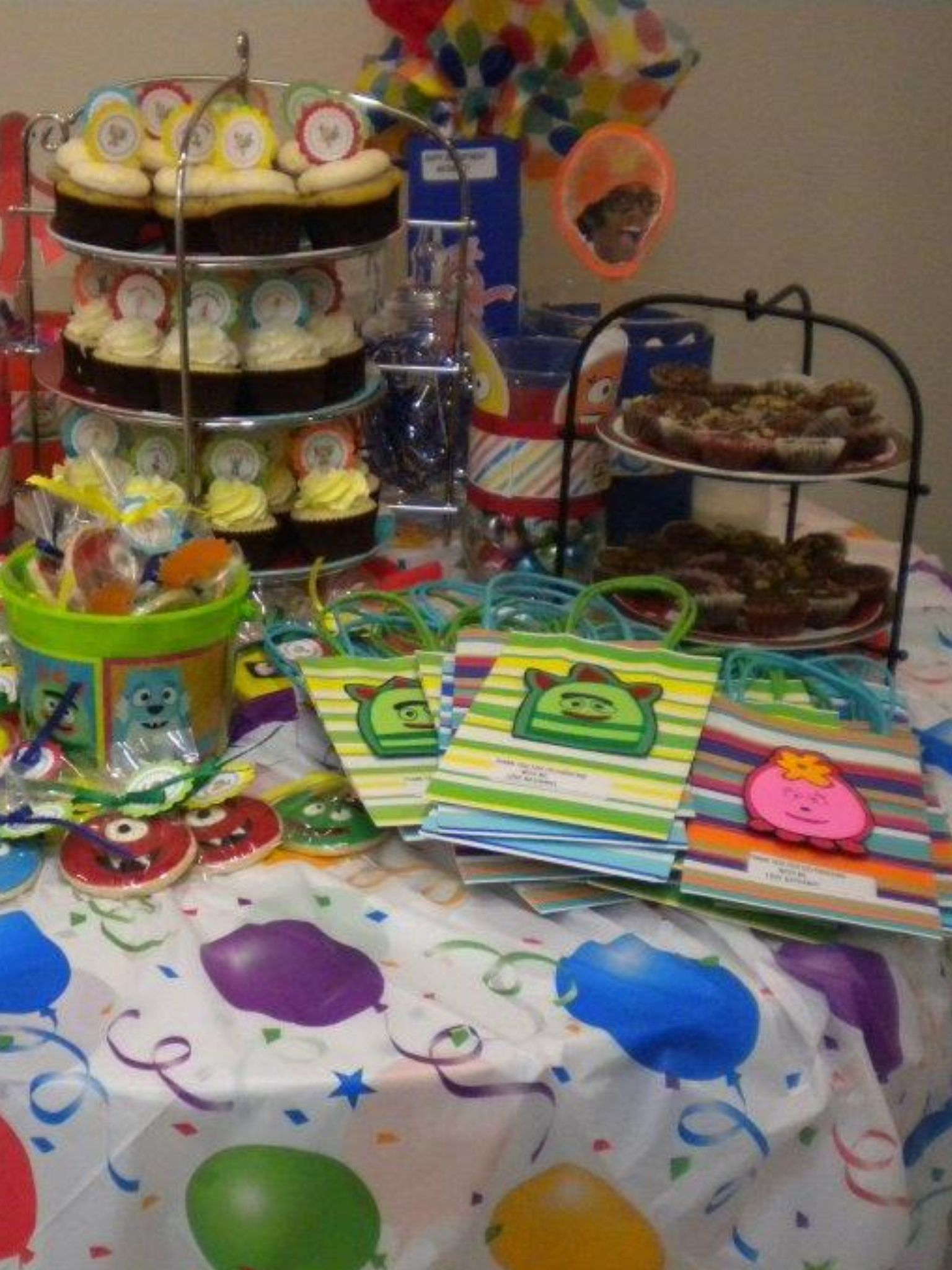 For Nathaniel's Birthday Party ;)