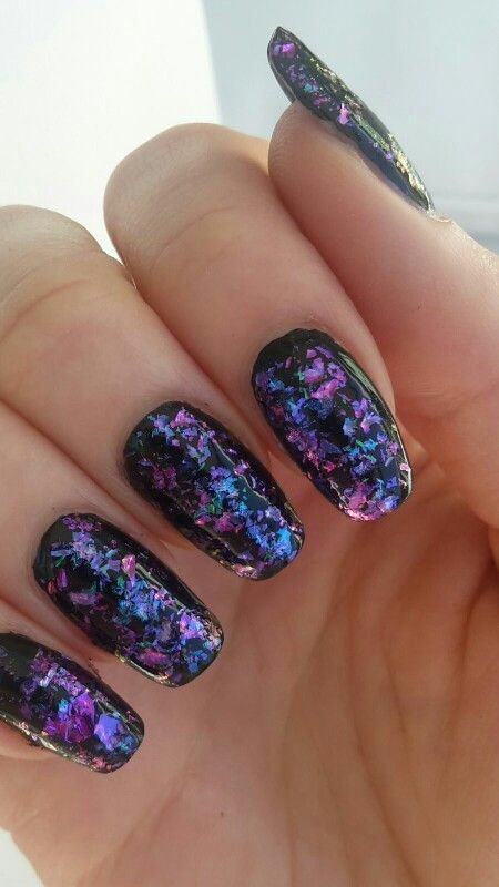 Acrylic Nail Design For New Years For Christmas For Winter Spring