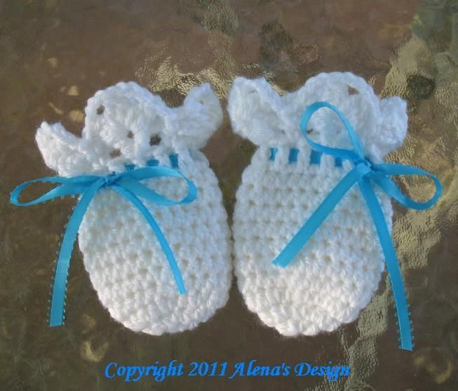 Baby Thumb-less Lace Cuff Mittens | Guantes