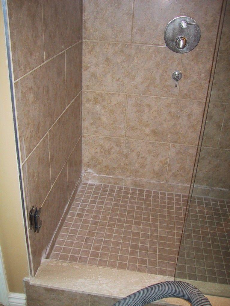 Doorless Shower Design Ideas Small Bathroom Design Ideas
