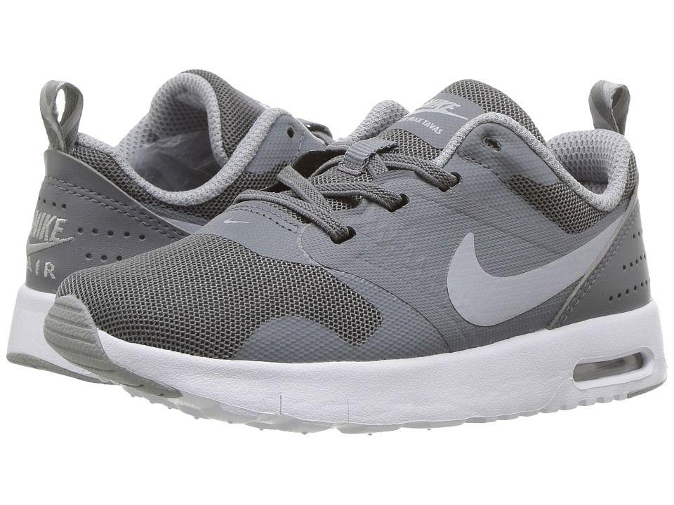 separation shoes eeaba 55edb Nike Kids Air Max Tavas (Infant Toddler) Boys Shoes Cool Grey White Wolf  Grey