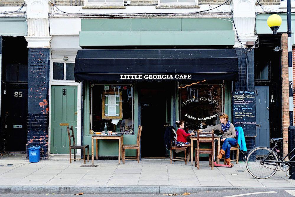 Little Georgia Restaurant Review Restaurant Georgia Outdoor Decor