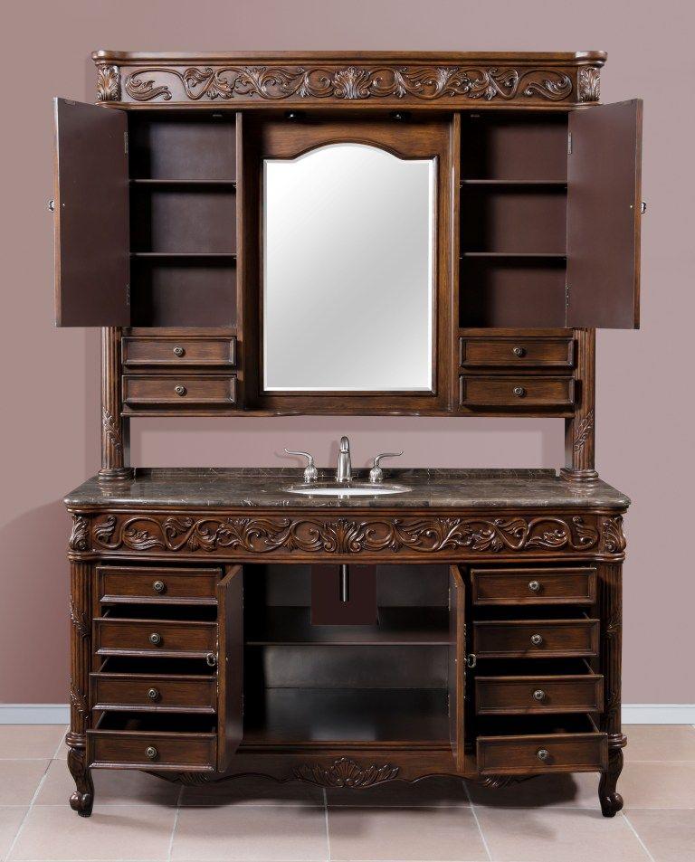 Bathroom Vanity Cabinet Set Open View Bathroom Shower Systems
