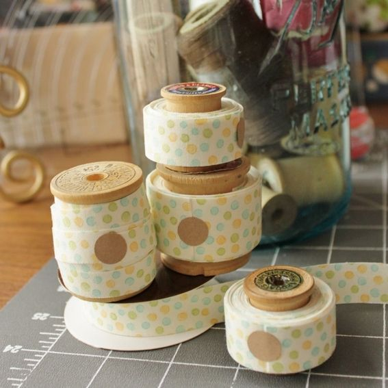 How to: Make DIY Fabric Tape #fabrictape
