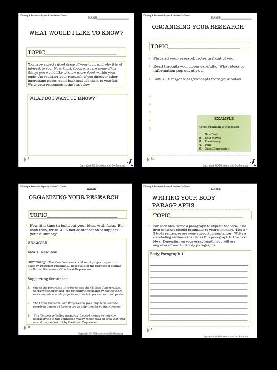 Writing A Research Paper Guide for Students Social studies - guide to write a research paper