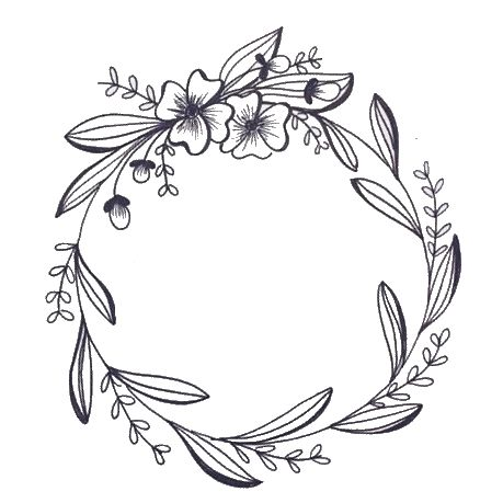 Photo of floral wreath