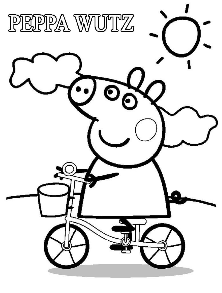 Malvorlagen Peppa Wutz Colouring For Kids Peppa Pig Coloring