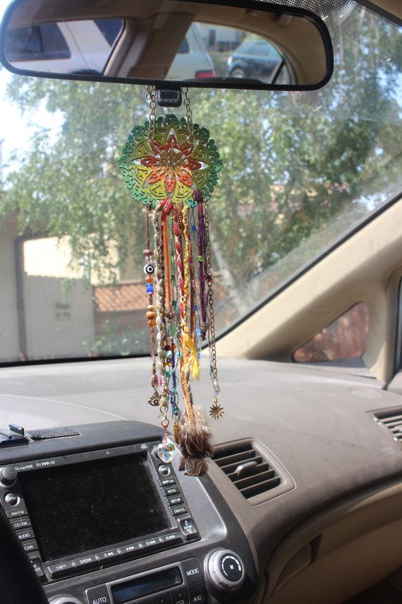 Dream Catcher Car Mirror Hanger Car Mirror Charm Car