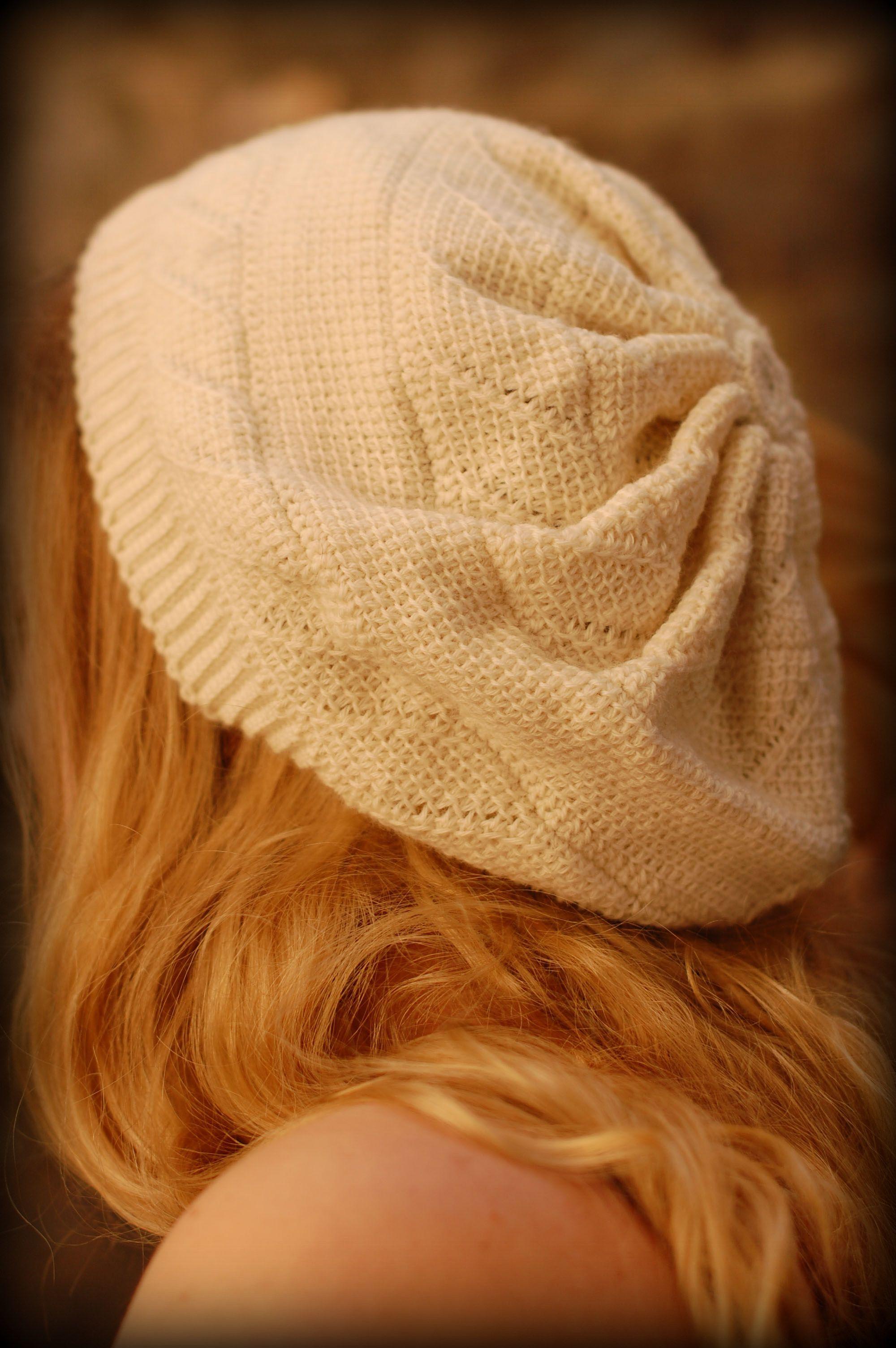 Elderflower Hat pattern by Aoibhe Ni | Tunisian crochet patterns ...