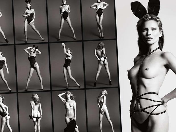 Todas las fotos de Kate Moss para Playboy