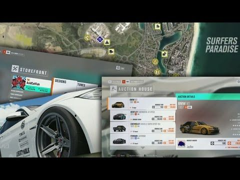 FORZA HORIZON 3 AUCTION HOUSE, DRONES, BLUEPRINTS, MAP INFO AND MUCH