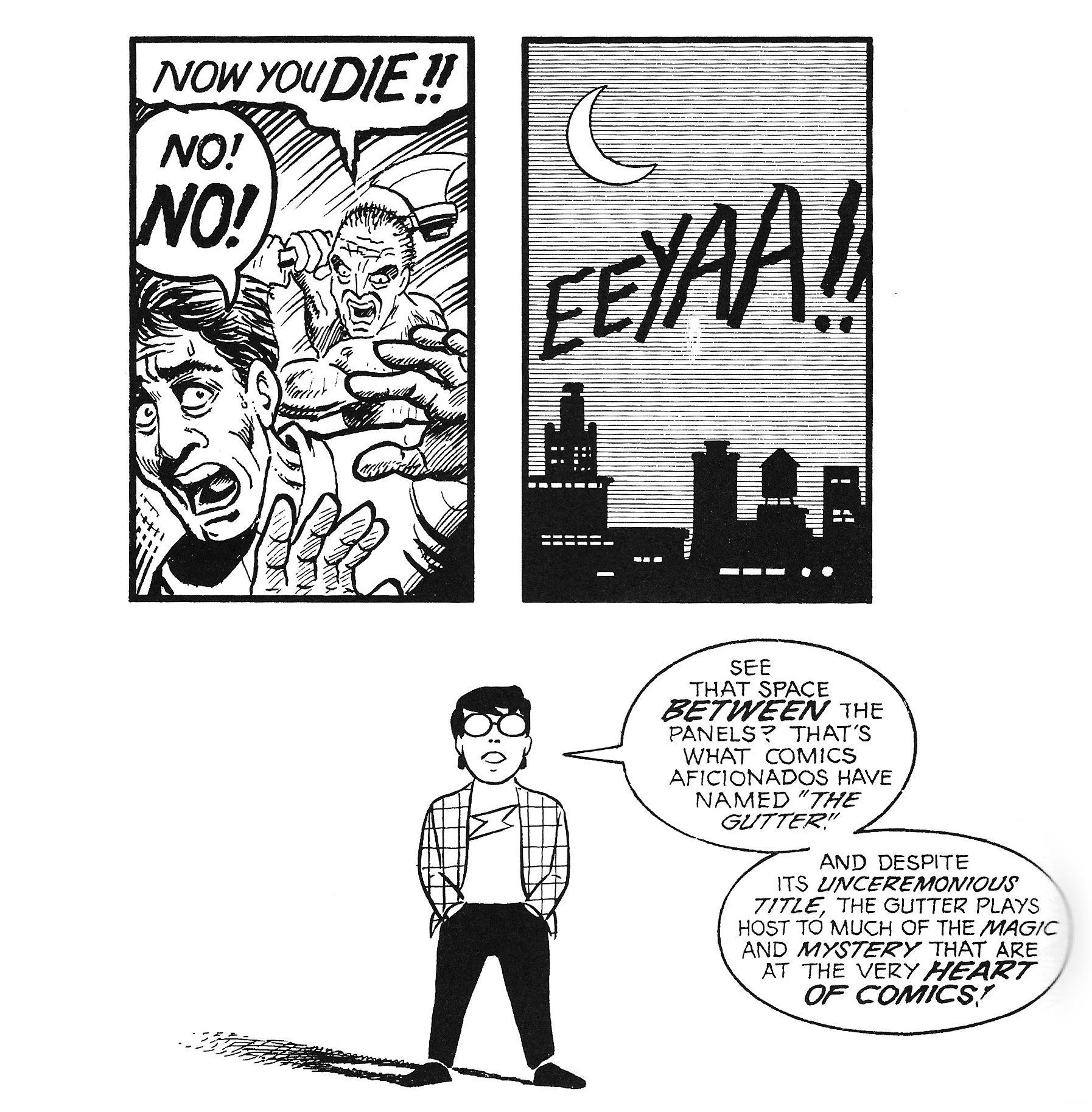 Scott McCloud - The Gutter | Comics, Mccloud, Storyboard