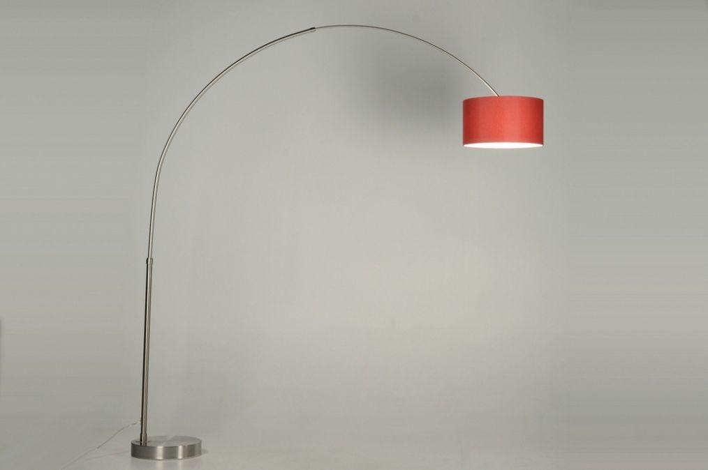 Vloerlamp extra grote booglamp xl de lamp hangt aan een