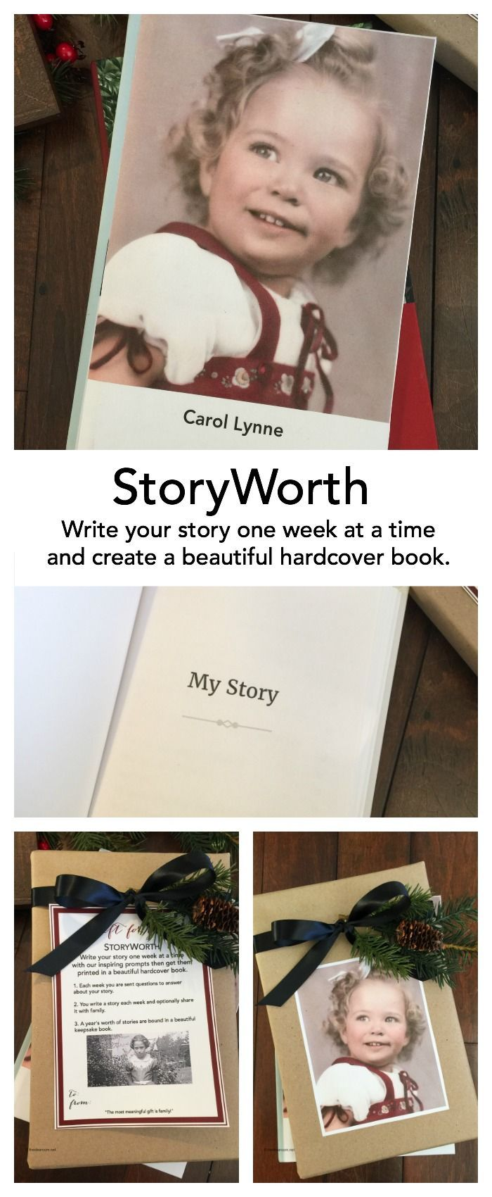 Gift Giving: Share Your Story with StoryWorth | Pinterest | Holidays ...