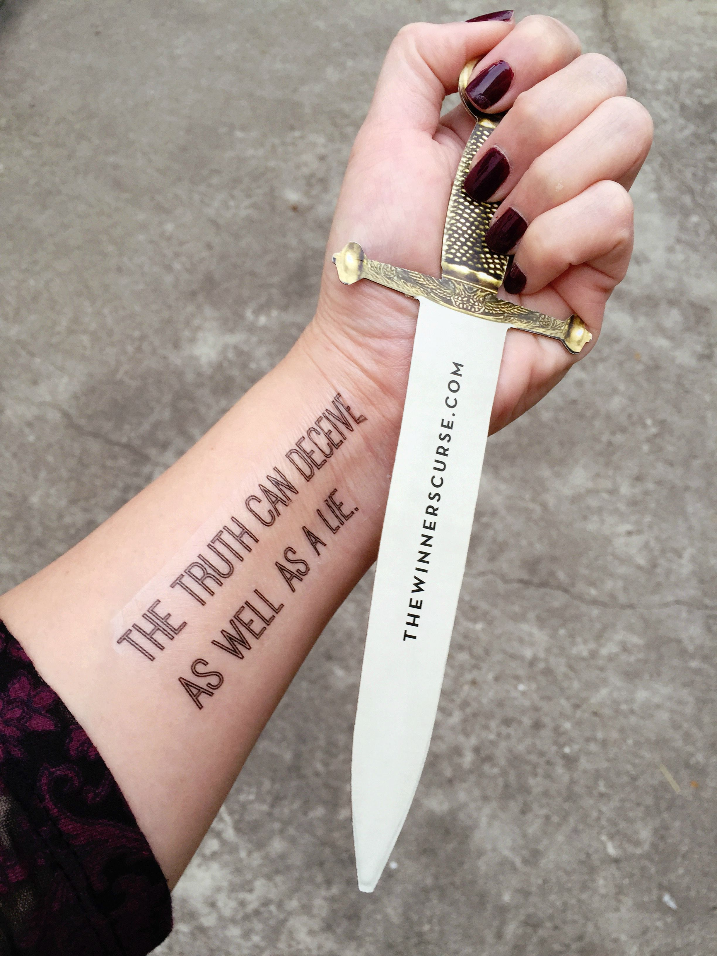 Where To Get Temporary Henna Tattoos Near Me: Make Your Own Temporary Book-inspired Tattoos