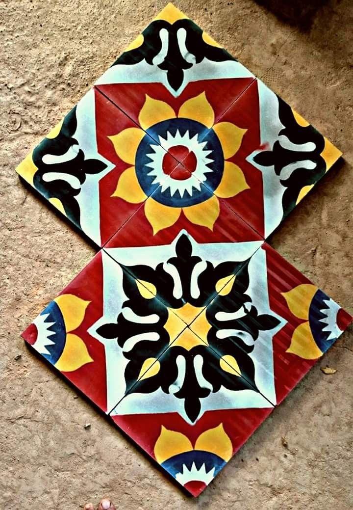 Pin by Suya Chandar on Athangudi tiles Tile design