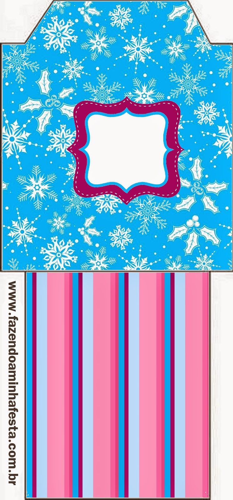 Frozen en Morado y Celeste para Navidad: Imprimibles Gratis para ...