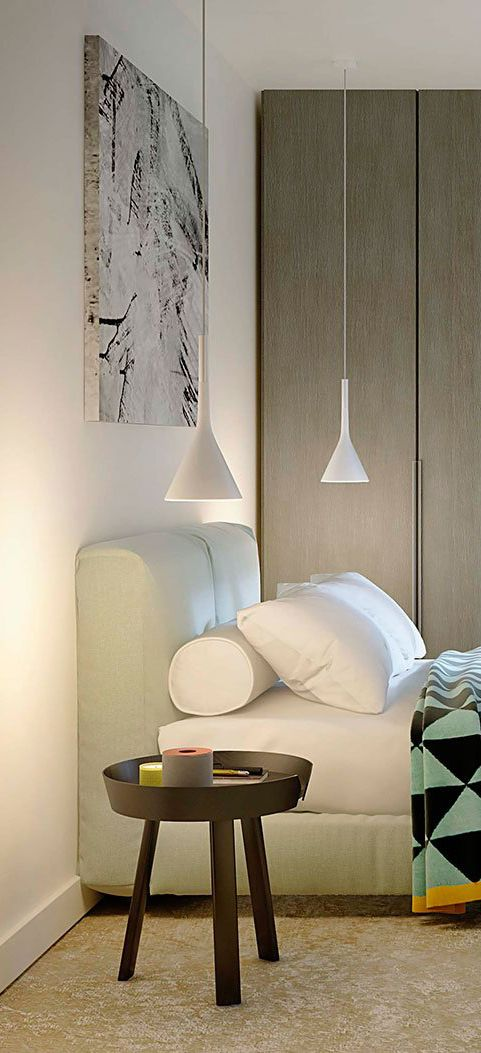 Aplomb Foscarini via Spacefurniture | 现代风格卧室Modern Bedroom nel ...