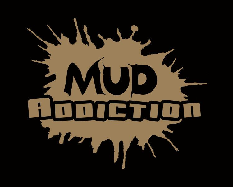 Mud addiction window decal mudding 4x4 life truck lifted monster sticker life