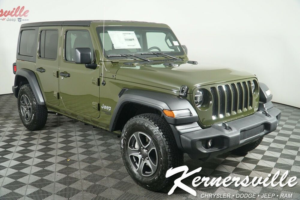 2020 Jeep Wrangler Sport New 2020 Jeep Wrangler Unlimited