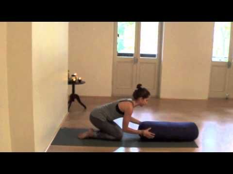 restorative yoga sequence from claire obeid  restorative