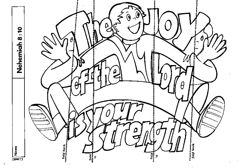 Joy Coloring Page Fruit Spirit With Nice Joy Coloring Page
