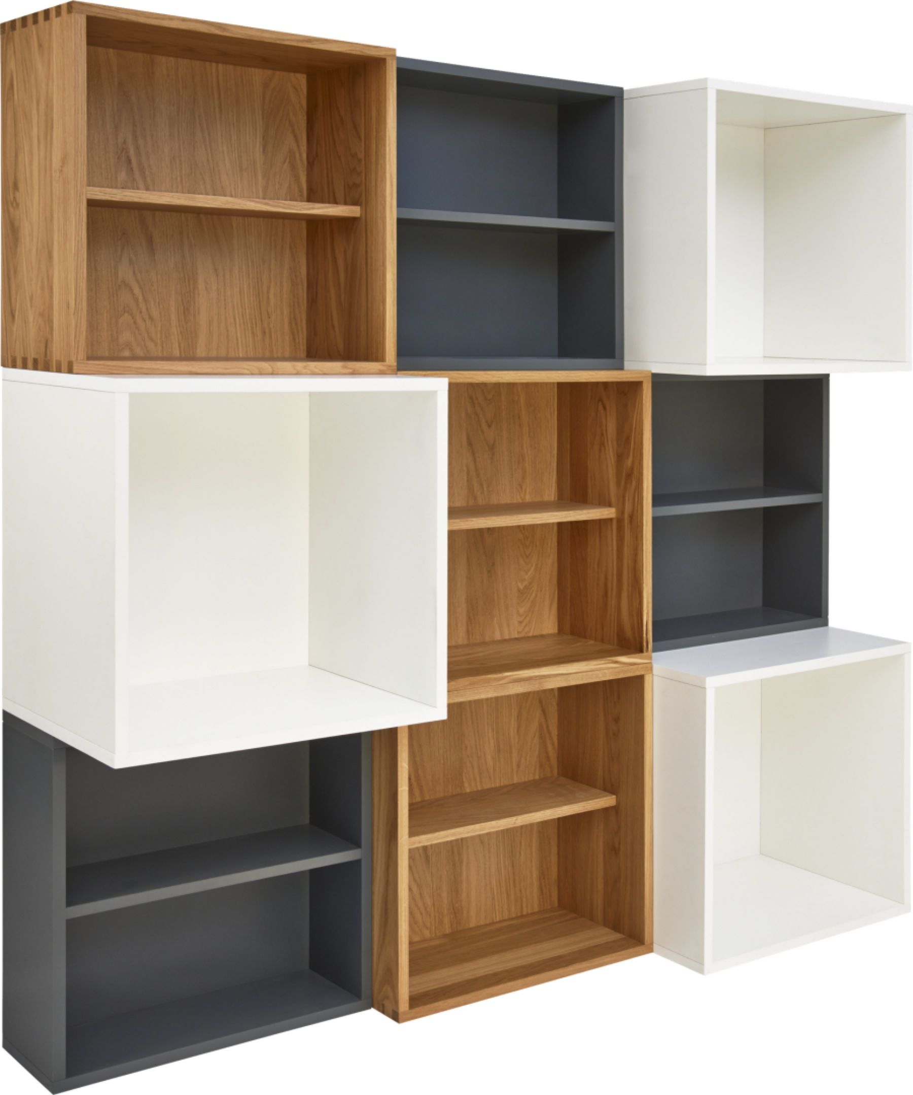 Rangement Bibliotheque Modulable
