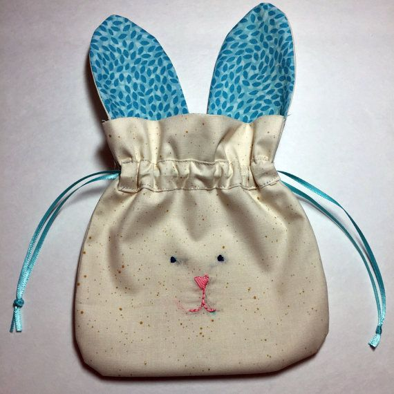 Easter bunny treat bag candy easter basket by mulberrypatchquilts easter bunny treat bag candy easter basket by mulberrypatchquilts negle Gallery