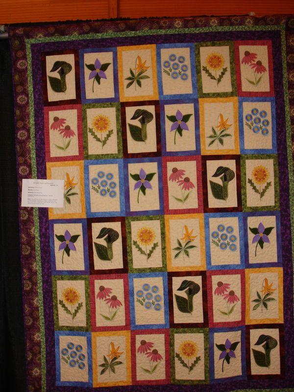 Granville Ohio quilt show