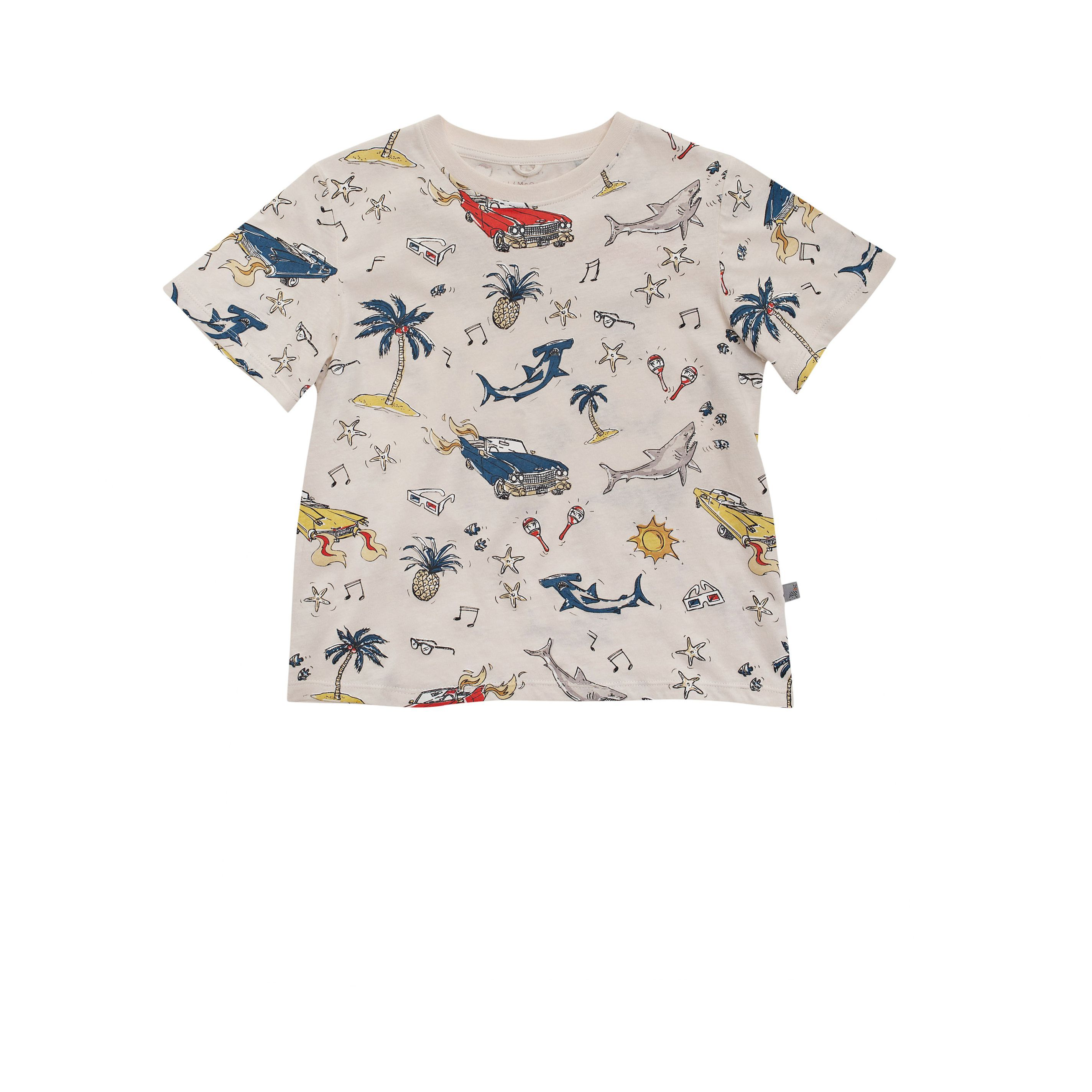 Stella Mccartney Kids - ARLO 50's PRINT T SHIRT - Shop at the official Online Store
