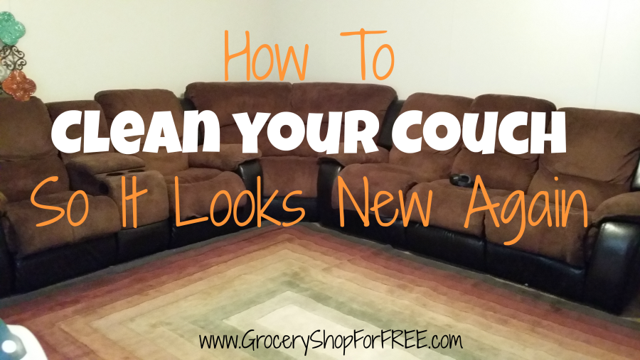 How To  Clean Your Couch So It Looks  New Again