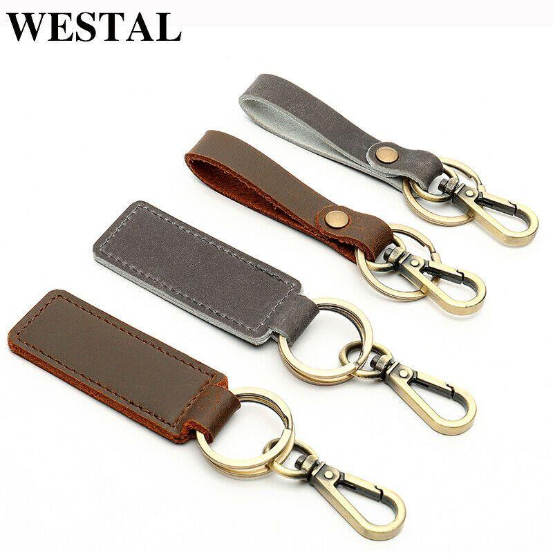282884a1aaaa unisex genuine leather keychain keyring handmade key holder bags Jewelry   fashion  clothing  shoes