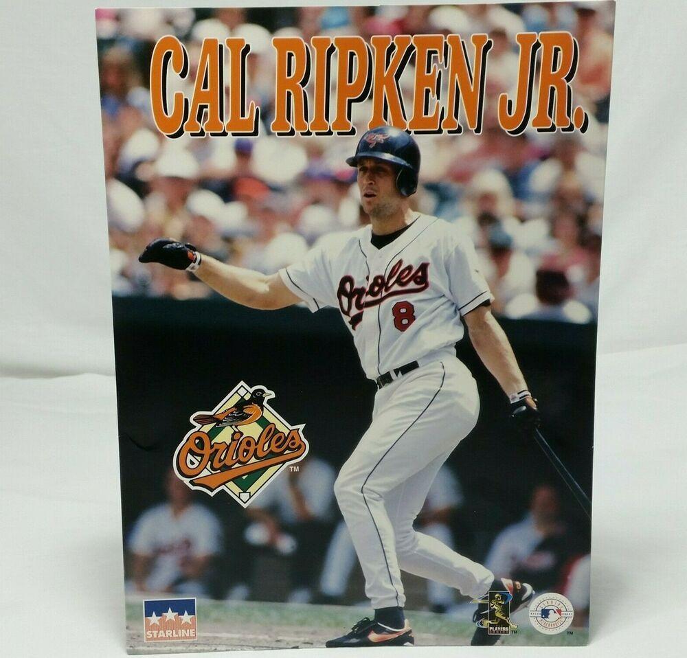 Cal Ripken Jr Portfolio Folder Vintage 90s Baltimore