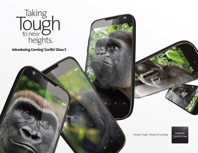 Cornings stronger Gorilla Glass 5 is hitting devices later