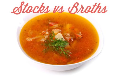 Your recipe calls for stock. You have broth. Now what?! Find out here. And then some.