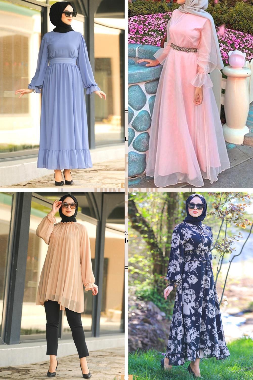 Hijab Dress موضة حجاب ربيع و رمضان 2020 Fashion Hijab Dress Dresses