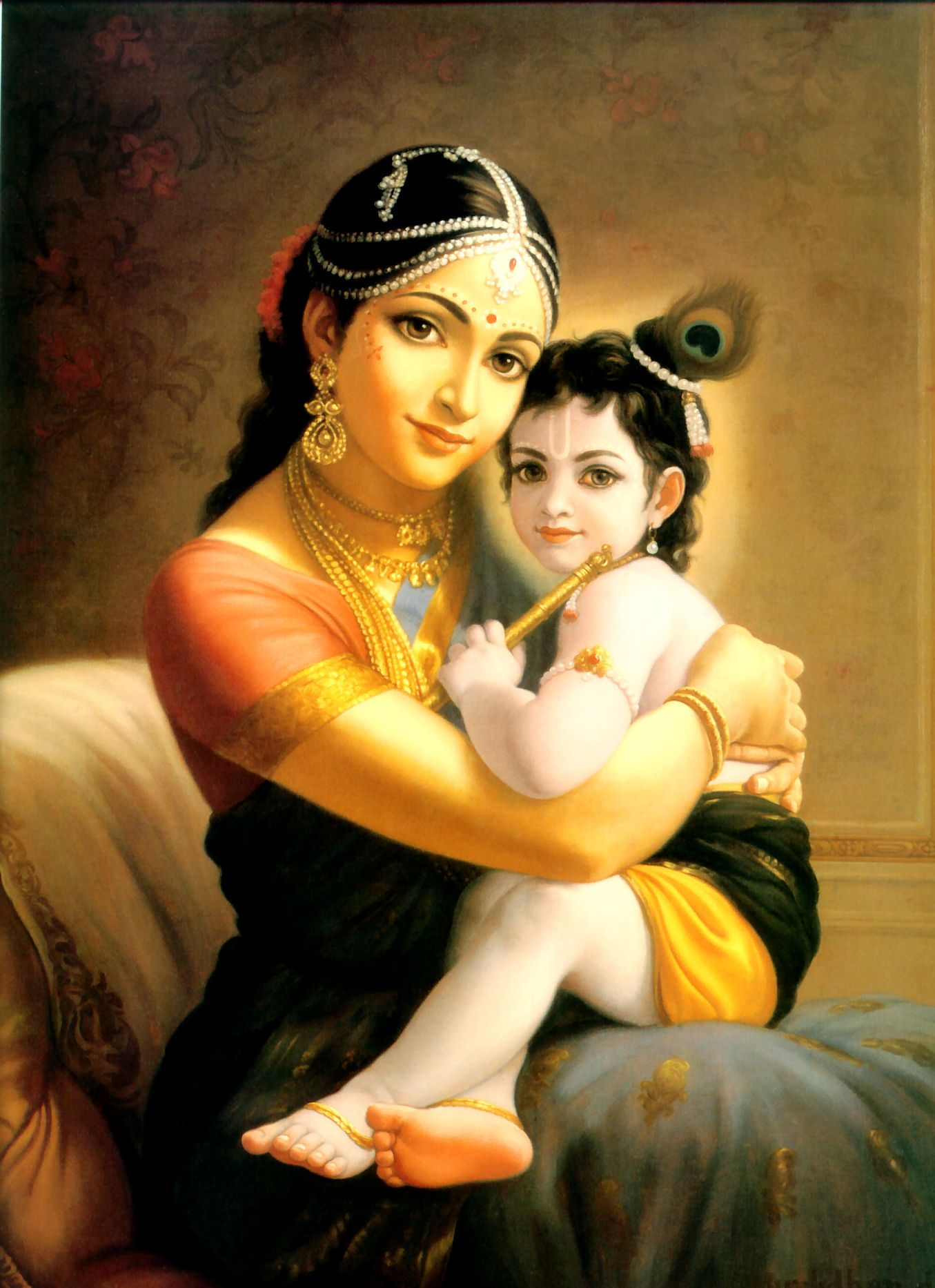 high definition 1280x720 baby krishna pic - Google Search ...