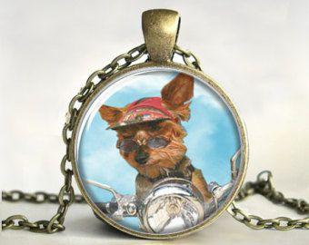 Harley yorkie pendant yorkie art necklace jewelry dog art puppy harley yorkie pendant yorkie art necklace jewelry dog art puppy aloadofball Gallery