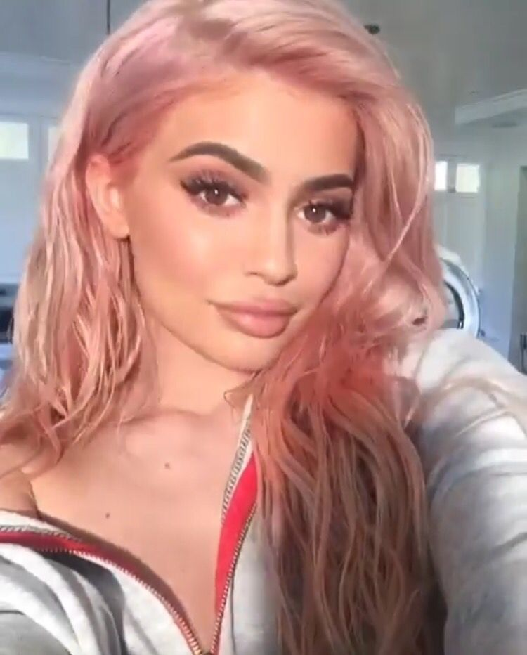 Gillianvidegar Kylie Jenner Hair Color Kylie Jenner Pink Hair Kylie Jenner Hair