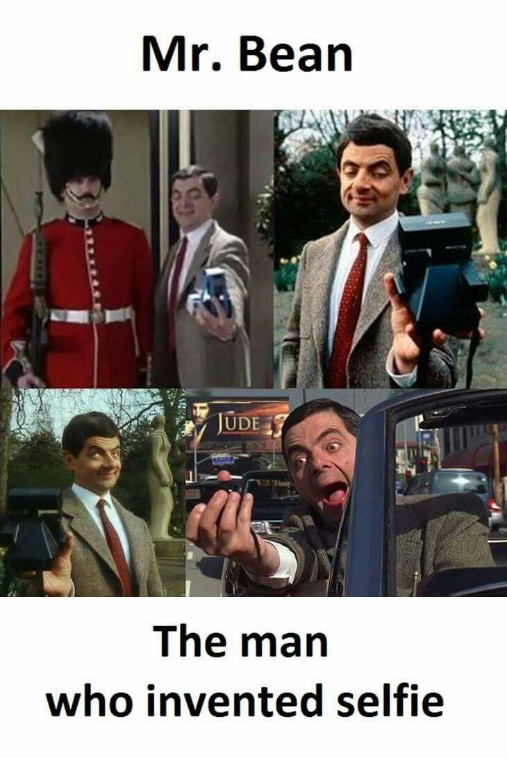 Mr Bean Selfie Mr Bean Funny Funny Moments Funny Selfies