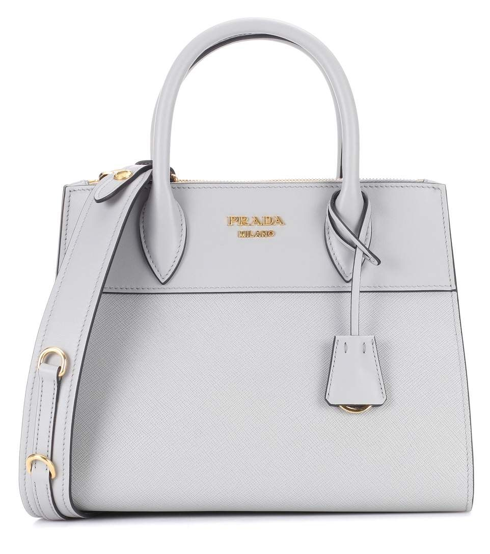 fdc2be500fc PRADA Paradigme Leather Handbag.  prada  bags  leather  lining  accessories   shoulder bags  charm  hand bags