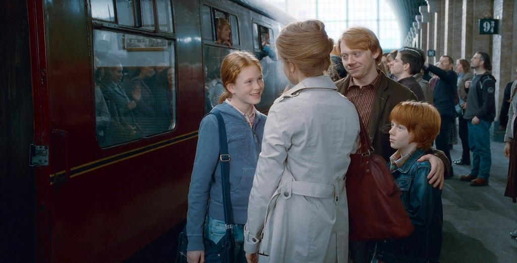 Harry Potter World On Twitter Ron Und Hermine Scorpius And Rose Ron Weasley