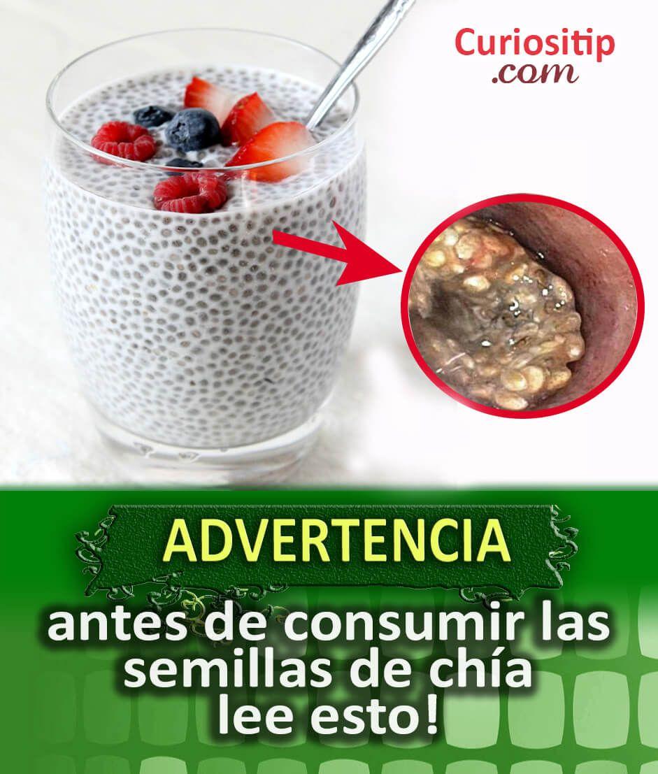 Advertencia Del Consumo De Semillas De Chia Curiositip Beneficios De La Chia Canela Y Miel Bajar De Peso Como Consumir Chia