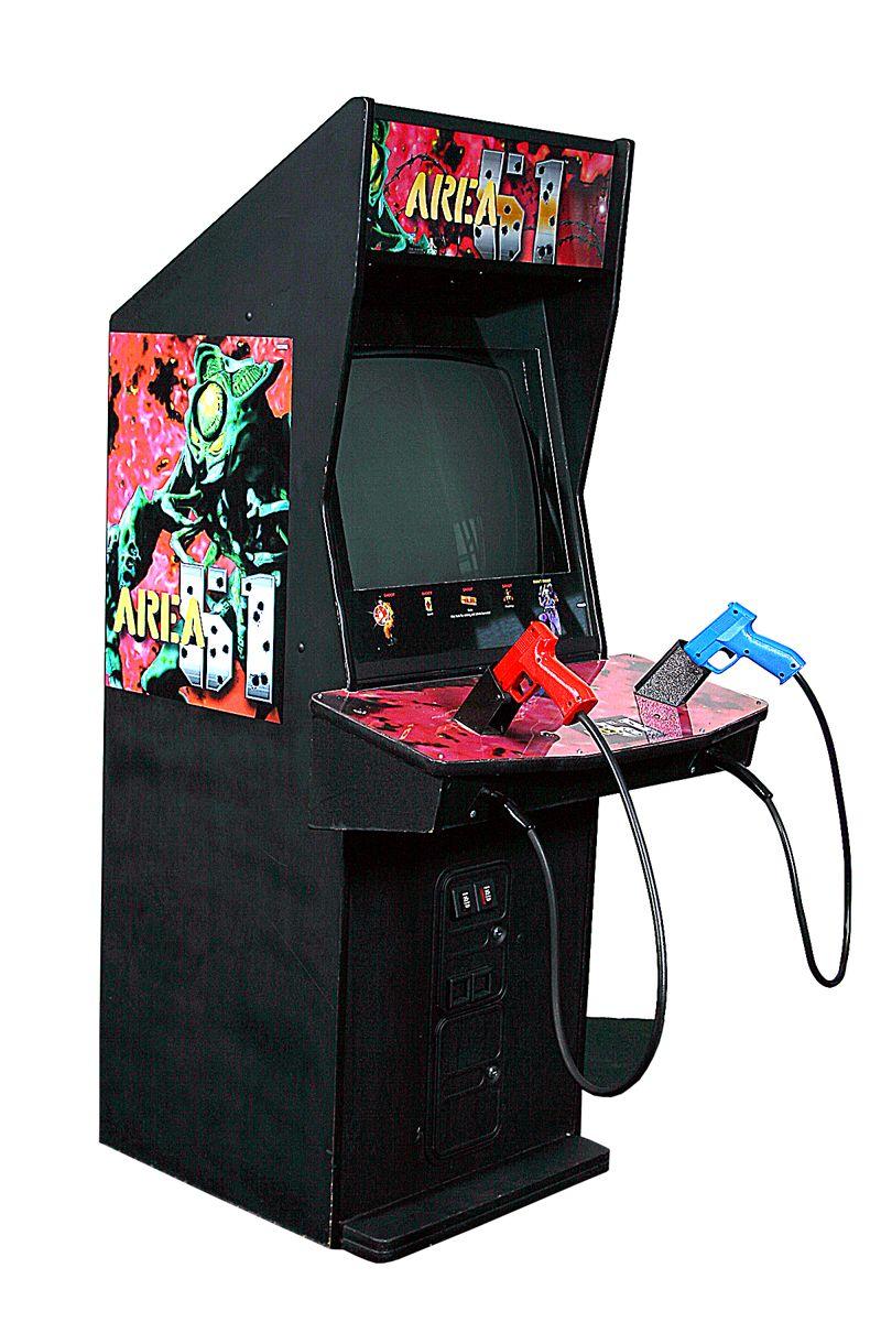 Area 51 Classic video games, Area 51, Secret rooms