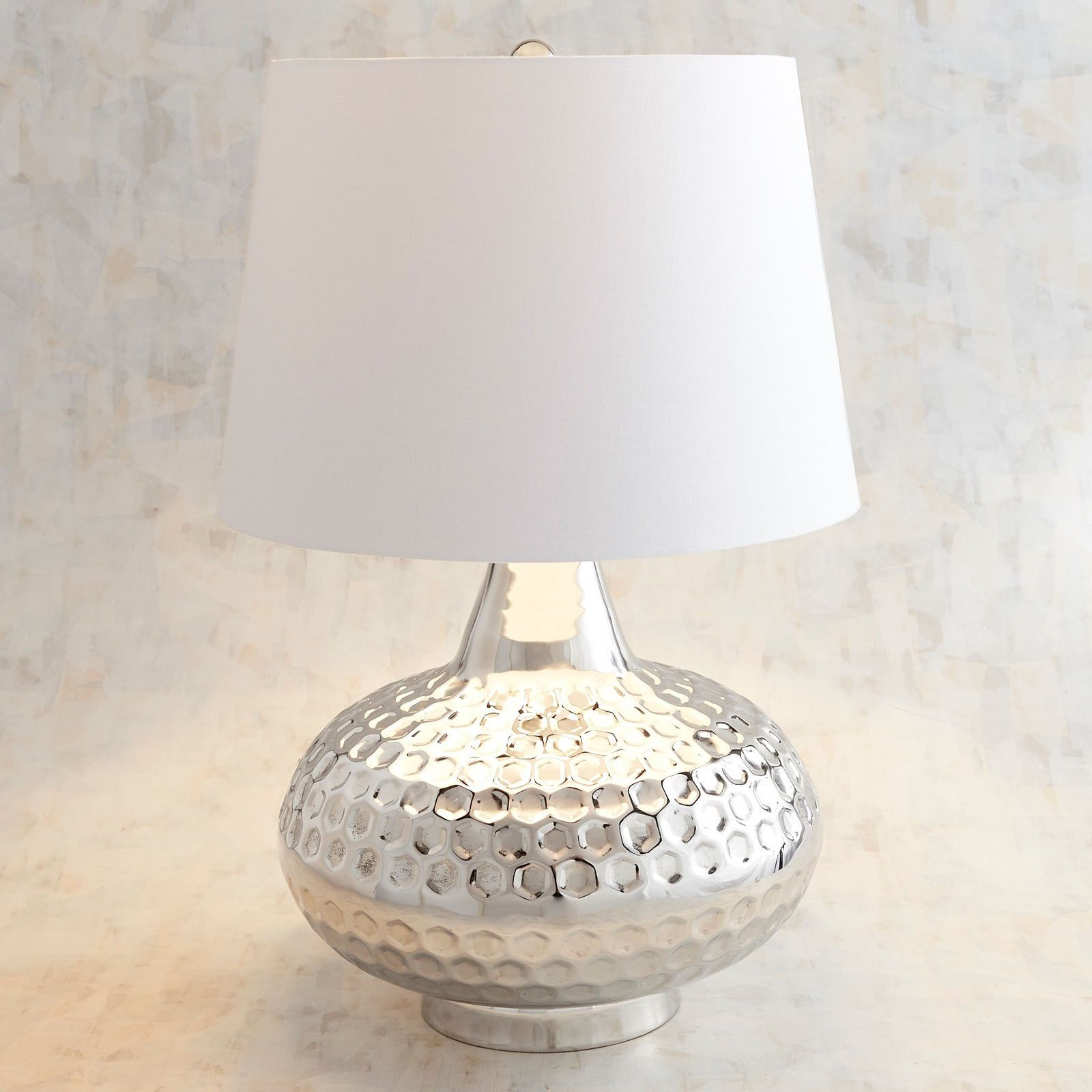 Genie Hammered Metal Table Lamp Pier 1 Imports Metal Table Lamps Table Lamp Lamp