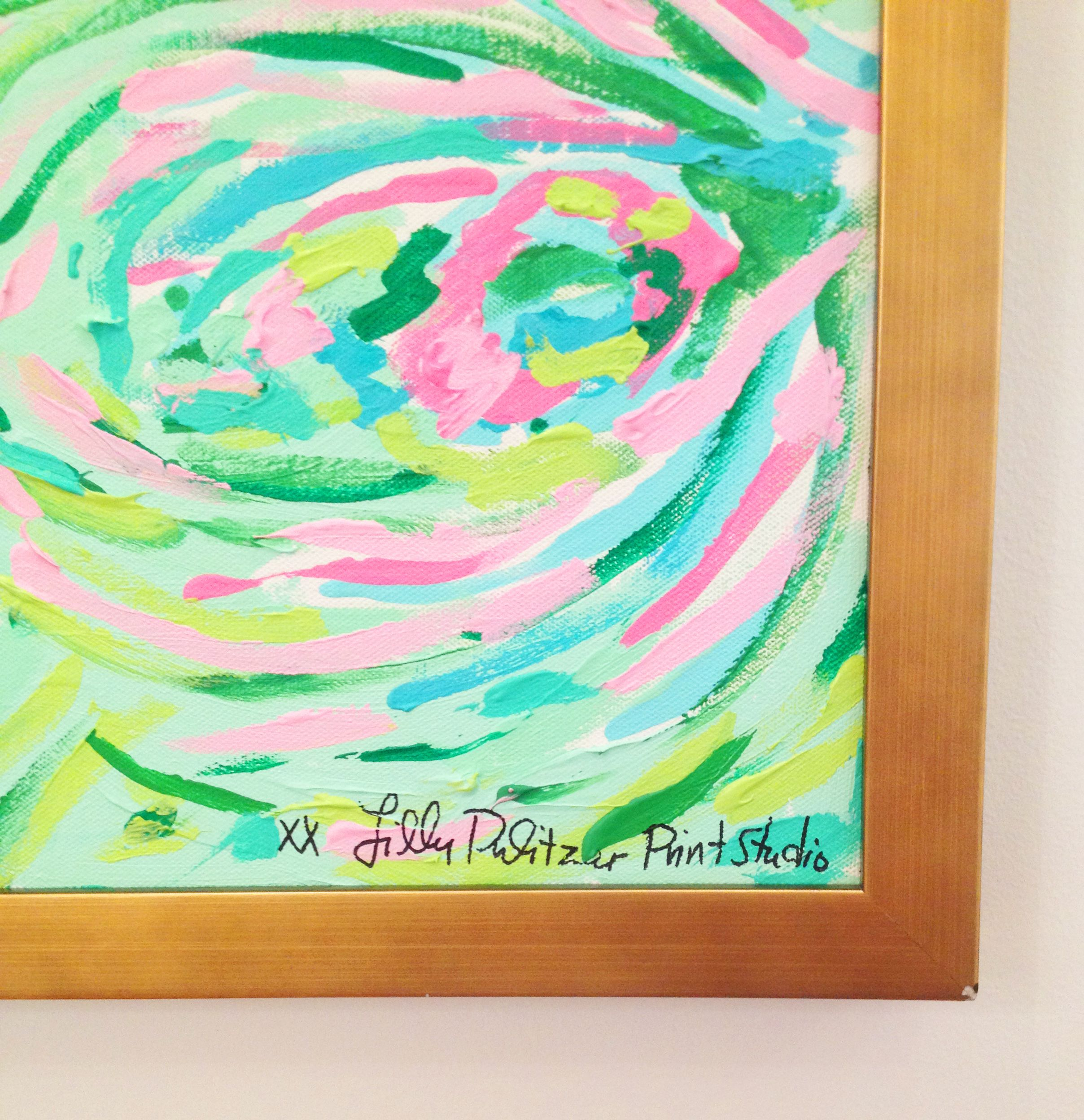 Lilly Pulitzer Print Designer Original Painting | Lilly Retail ...