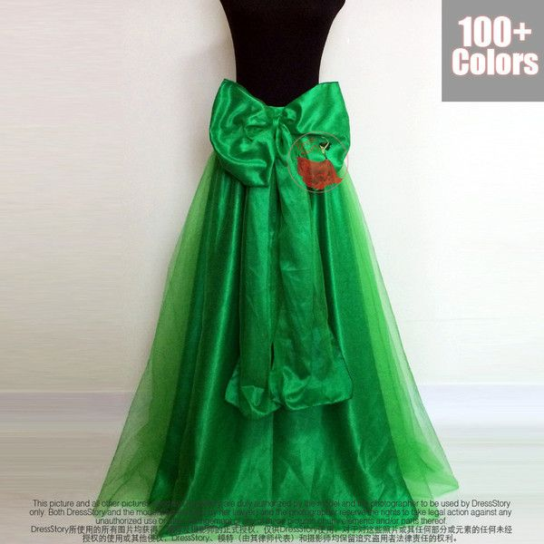 52c6ddb8b Spring Green Tulle Maxi Skirt With Oversized Bow Belt Green Tulle Maxi... (